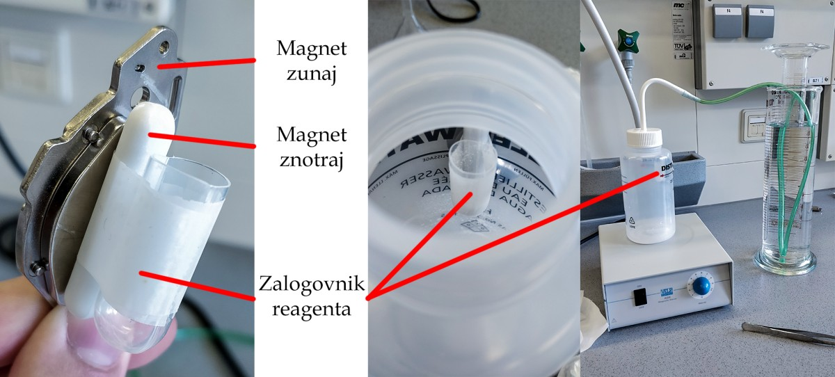 An elegant solution for simplifying a laboratory experiment making use of recycled hard disk magnets