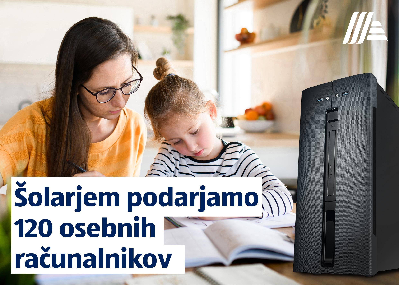 (Slovensko) HOFER doniral 120 osebnih računalnikov za šolarje